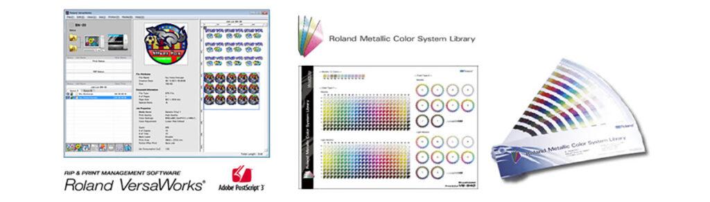 BN20噴切輸出機_列印管理軟體_多種的預設顏色設定