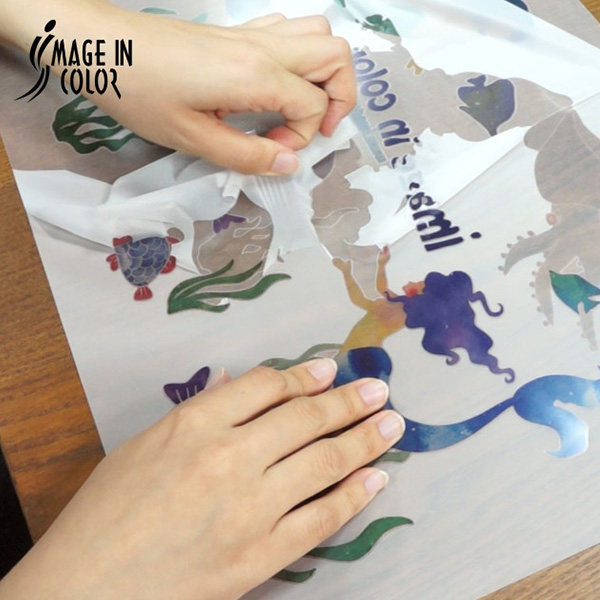 Clear Matte Printable Transfer Vinyl