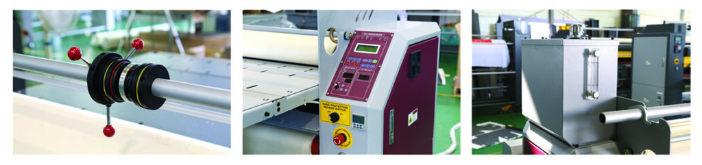 OUX Rotary Heat Transfer Machine