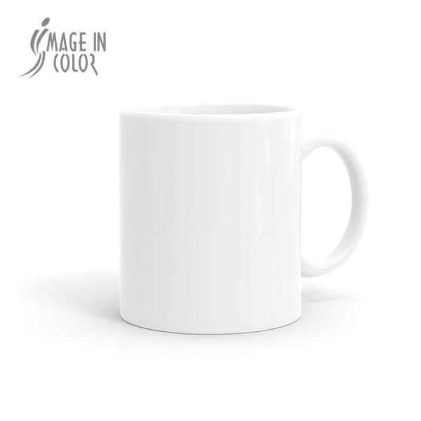 Coated White Mug